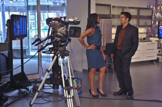 on the set of CityLine